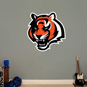 Cincinnati Bengals Logo  Fathead Wall Decal